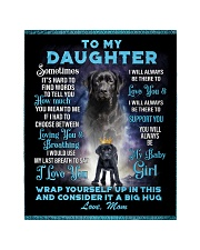 """To My Daughter From Mom - Lab Quilt 40""""x50"""" - Baby thumbnail"""