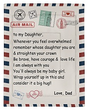 To My Daughter From Dad -04 Comforter - Twin thumbnail