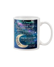 To My Daughter From Mom - Love you to the Moon Mug thumbnail