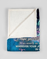 """To My Daughter From Mom - Love you to the Moon Small Fleece Blanket - 30"""" x 40"""" aos-coral-fleece-blanket-30x40-lifestyle-front-17"""