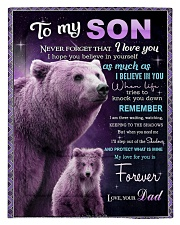 To My Son from Dad -  Bear Comforter - Twin thumbnail