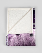 """To My Son from Dad -  Bear Small Fleece Blanket - 30"""" x 40"""" aos-coral-fleece-blanket-30x40-lifestyle-front-17"""