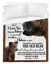 To My Daughter From DAD - Lion- 01 Duvet Cover - Twin thumbnail