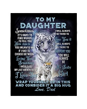 "To My Daughter from Dad- Tiger Quilt 40""x50"" - Baby thumbnail"
