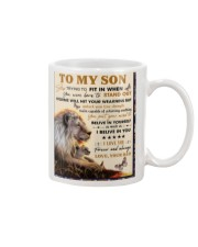 To My Son From Dad  - Lion - 04 Mug thumbnail