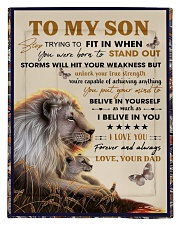 To My Son From Dad  - Lion - 04 Comforter - Twin thumbnail