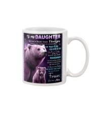 To My Daughter from Mom -  Bear Mug tile