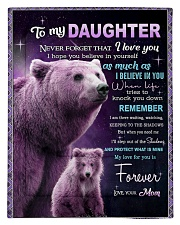 To My Daughter from Mom -  Bear Comforter - Twin thumbnail