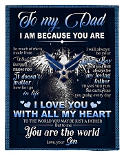 To My Dad From Son - Eagles Comforter - Twin thumbnail