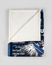 """To My Dad From Son - Eagles Small Fleece Blanket - 30"""" x 40"""" aos-coral-fleece-blanket-30x40-lifestyle-front-17"""