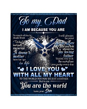 """To My Dad From Son - Eagles Quilt 40""""x50"""" - Baby thumbnail"""