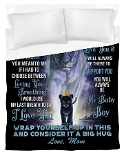 To My Daughter From Mom -Lioness- 01 Duvet Cover - Twin thumbnail
