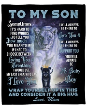 "To My Daughter From Mom -Lioness- 01 Fleece Blanket - 50"" x 60"" front"
