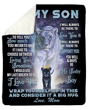 "To My Daughter From Mom -Lioness- 01 Sherpa Fleece Blanket - 50"" x 60"" thumbnail"