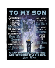 "To My Daughter From Mom -Lioness- 01 Quilt 40""x50"" - Baby thumbnail"