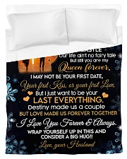 To My Wife 02 Duvet Cover - Twin thumbnail