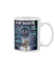To My Daughter From DAD - Wolf- 01 Mug thumbnail