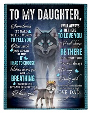 To My Daughter From DAD - Wolf- 01 Comforter - Twin thumbnail