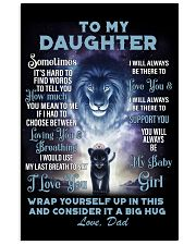 To My Daughter From DAD - Lion- PRO1 16x24 Poster thumbnail