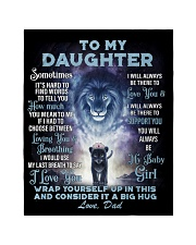 """To My Daughter From DAD - Lion- PRO1 Quilt 40""""x50"""" - Baby thumbnail"""