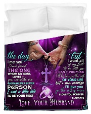 To My Wife - Dove - 01 Duvet Cover - Twin thumbnail