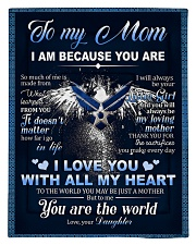 To My MOM From Daughter - Eagles Comforter - Twin thumbnail