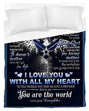 To My MOM From Daughter - Eagles Duvet Cover - Twin thumbnail