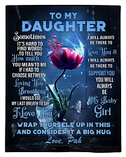 To My Daughter From DAD - PAH Comforter - Twin thumbnail