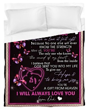 To My Daughter From Dad -02 Duvet Cover - Twin thumbnail