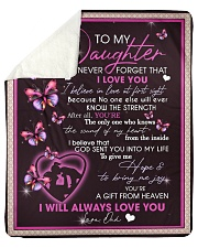 "To My Daughter From Dad -02 Sherpa Fleece Blanket - 50"" x 60"" thumbnail"