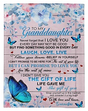 To My Grandson From Grandpa -Butterfly- 03 Comforter - Twin thumbnail
