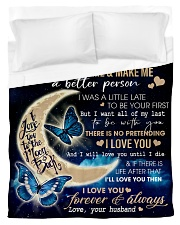 To My Wife 01 Duvet Cover - Twin thumbnail