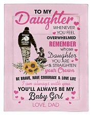 To My Daughter From DAD- Baby girl Comforter - Twin thumbnail