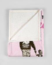 "To My Daughter From DAD- Baby girl Small Fleece Blanket - 30"" x 40"" aos-coral-fleece-blanket-30x40-lifestyle-front-17"