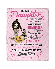 "To My Daughter From DAD- Baby girl Quilt 40""x50"" - Baby thumbnail"