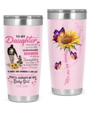 To My Daughter From DAD- Baby girl 20oz Tumbler thumbnail