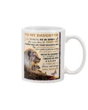 To My Daughter From Dad - Lion - 04 Mug thumbnail