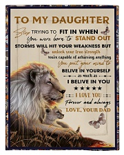 To My Daughter From Dad - Lion - 04 Comforter - Twin thumbnail