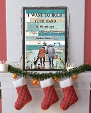 I Want to Hod Your Hand Personalize 24x36 Poster lifestyle-holiday-poster-4