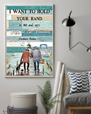 I Want to Hod Your Hand Personalize 24x36 Poster lifestyle-poster-1