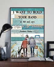 I Want to Hod Your Hand Personalize 24x36 Poster lifestyle-poster-2