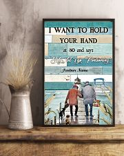 I Want to Hod Your Hand Personalize 24x36 Poster lifestyle-poster-3