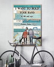 I Want to Hod Your Hand Personalize 24x36 Poster lifestyle-poster-7