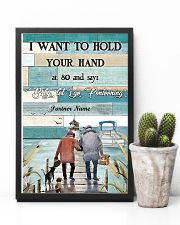 I Want to Hod Your Hand Personalize 24x36 Poster lifestyle-poster-8
