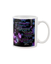 To My Daughter From Mom - Butterfly Mug thumbnail