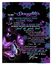 To My Daughter From Mom - Butterfly Comforter - Twin thumbnail