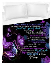 To My Daughter From Mom - Butterfly Duvet Cover - Twin thumbnail