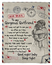 To My Girlfriend 01 Comforter - Twin thumbnail