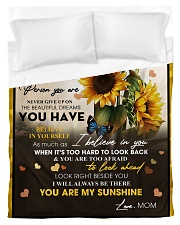 To My Daughter From Mom -05 -Sunflower   Duvet Cover - Twin thumbnail