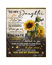 """To My Daughter From Mom -05 -Sunflower   Quilt 40""""x50"""" - Baby thumbnail"""